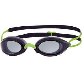 Zoggs Fusion Air Goggles, black/green/smoke